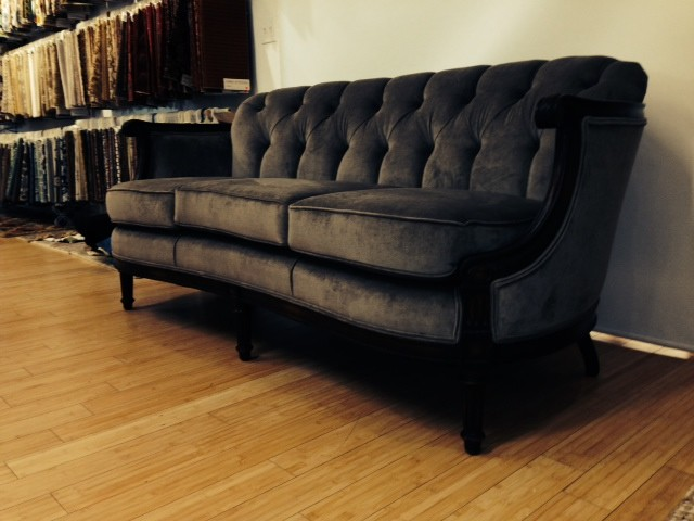tufted loveseat Spaces Traditional with loveseat tufted loveseat tufted sofa Tufting velvet loveseat velvet sofa