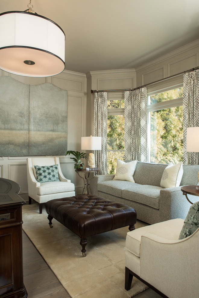Tufted Ottoman Coffee Table Family Room Transitional with Area Rug Atlanta Homes Curtains Leather Ottoman Light Blue Sofa Painted Folding