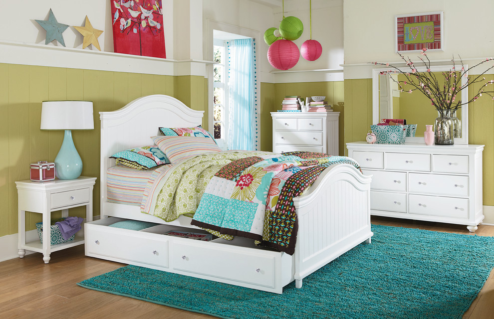 Twin Bed with Trundle Spaces with Girl White Twin Bed Girls Bedroom Girls Room White Full Bed White