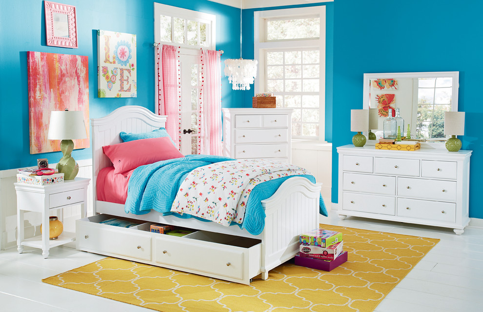 Twin Bed with Trundle Spaces with Girls Room Girls White Twin Bed Girls Bedroom White Twin Bed White