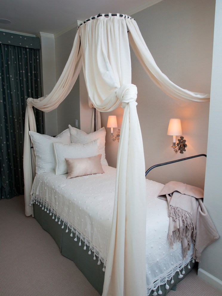 Twin Canopy Bed Bedroom Shabby Chic with Canopy Bed Contemporary Family Friendly Sconces Traditional Twin Canopy Bed