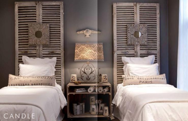 Twin Headboards Spaces with None