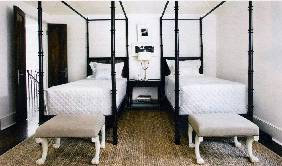 Twin Metal Bed Frame Bedroom Contemporary with 1920s Black and White Black Wood Bed Black Wood Floor Cottage Double