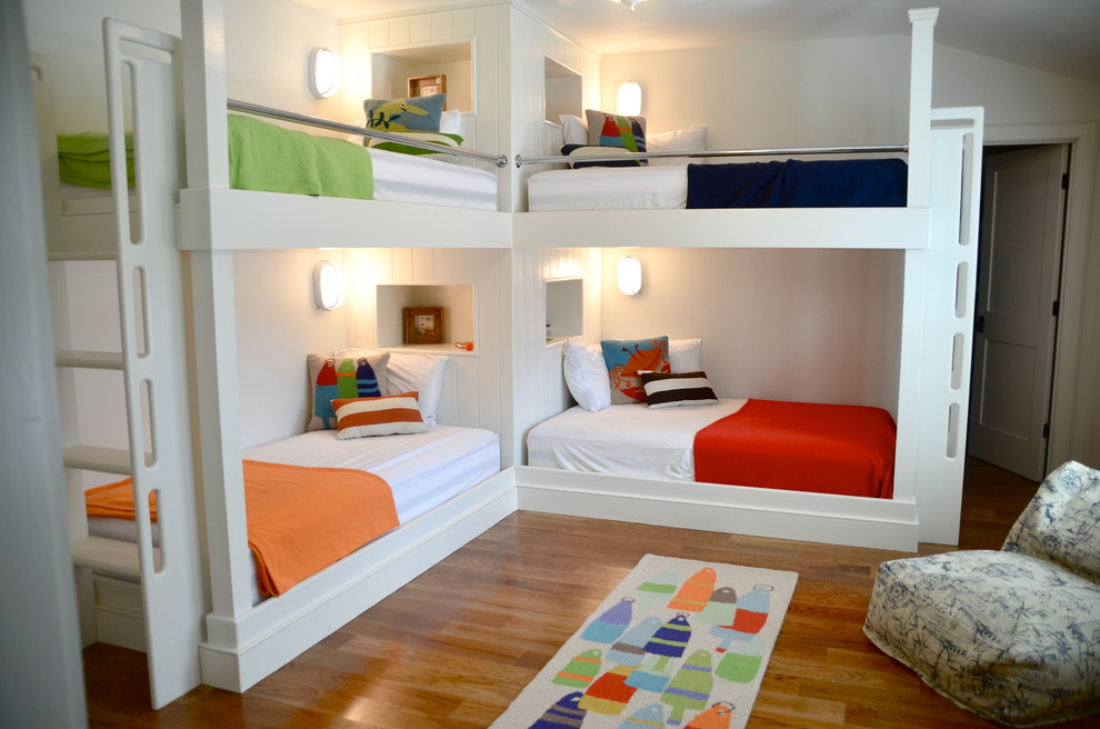 Twin Over Full Bunk Bed with Stairs Kids Beach with Beach House Black Bedding Bunk Bed Cubbies Bunk Bed Ladder Bunk Beds