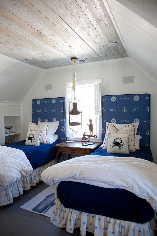 Twin Quilt Bedroom Beach with Beach House Cape Cod Coastal Style Island Cottage Lantern Pendant Small Bedroom