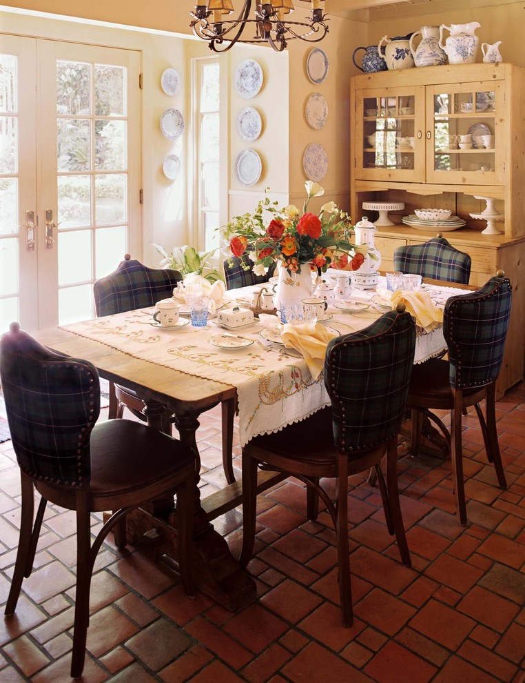upholstered dining room chairs Dining Room Traditional with blue and white Interior Decorator interior designer interior designer san francisco iron