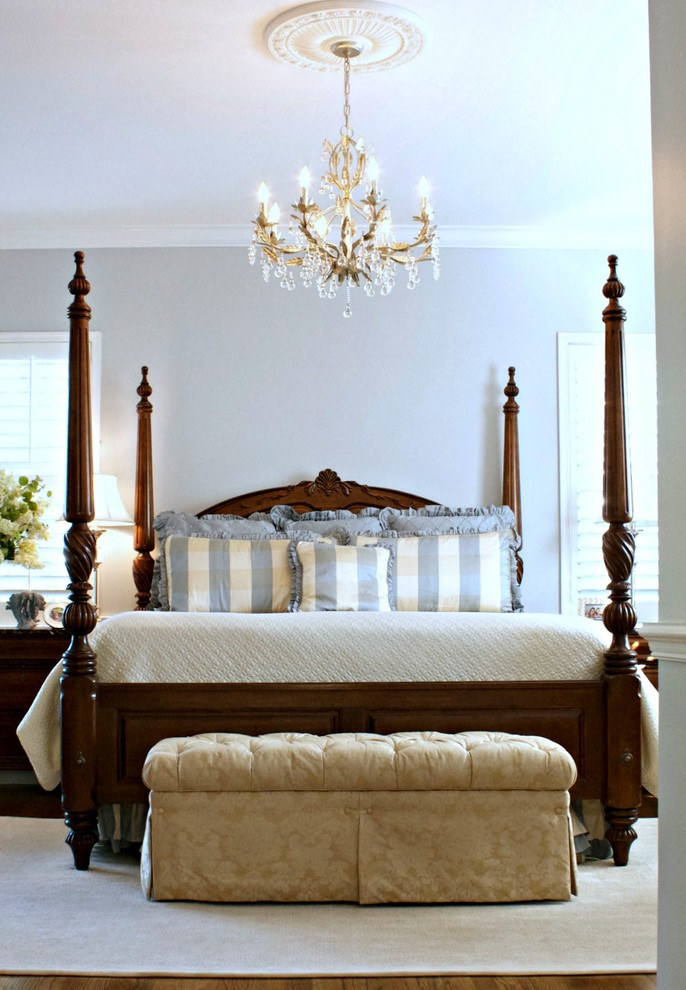 Upholstered Storage Bench Bedroom Traditional with My Houzz 1