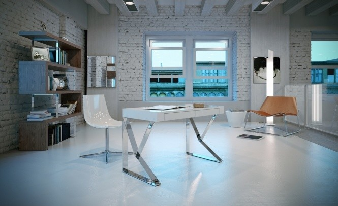 Used Pizza Ovens Home Office Contemporary with Home Office Desks Houston Desks Modloft Office Desks Rove Concepts