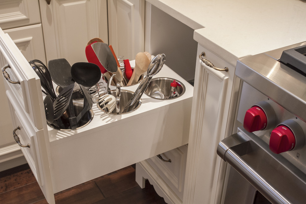 Utensil Organizer Kitchen Traditional with Categorykitchenstyletraditionallocationportland