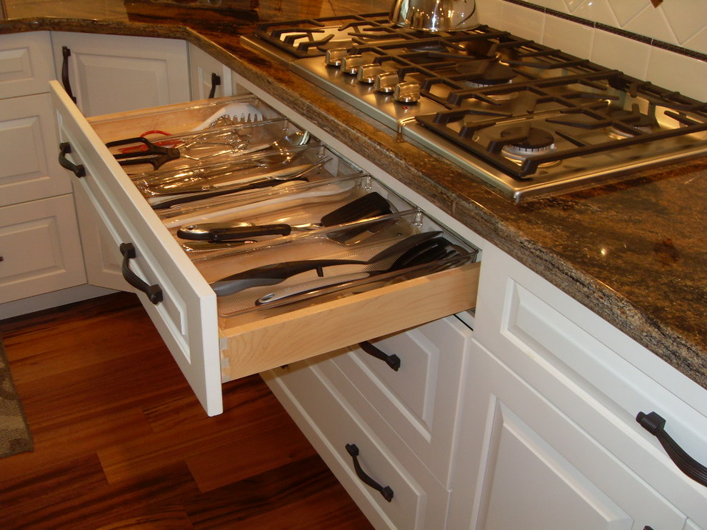 Utensil Organizer Spaces Traditional with Categoryspacesstyletraditionallocationchicago