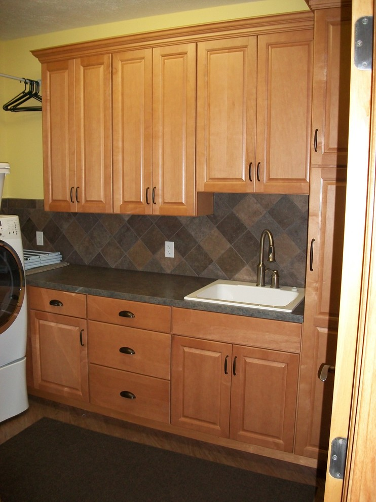 Utility Sink Cabinet Spaces Traditional with Laundry Laundry Storage Tall Pantry Utility Cabinet Utility Sink