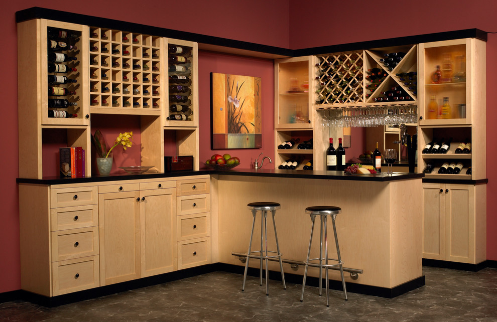 Vinyl Placemats Wine Cellar Traditional with Bar Bar Area Custom Made Interior Design Details Timeless Design Wine Racks