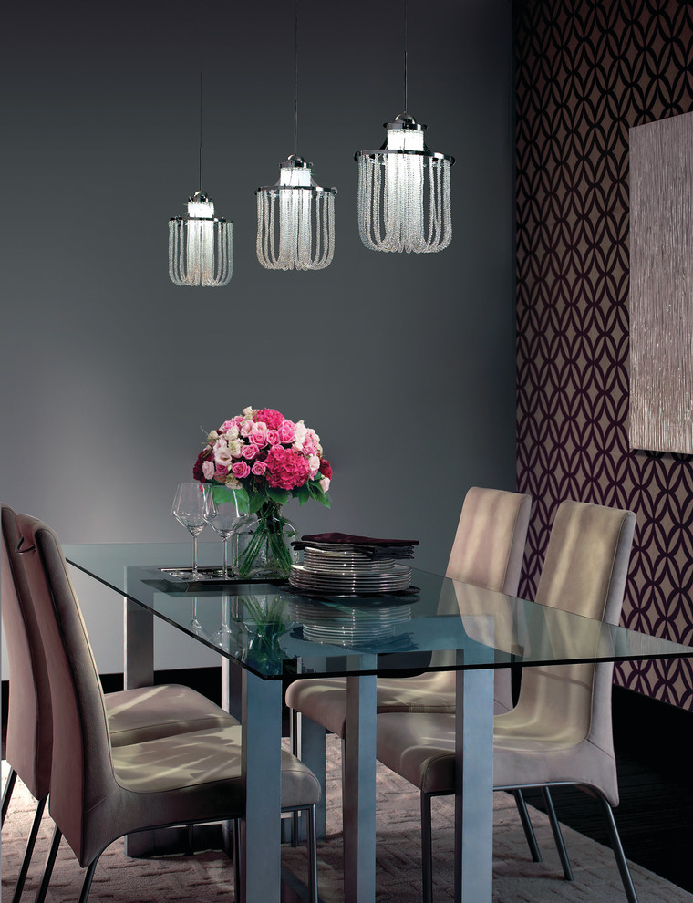 wac lighting Dining Room with none