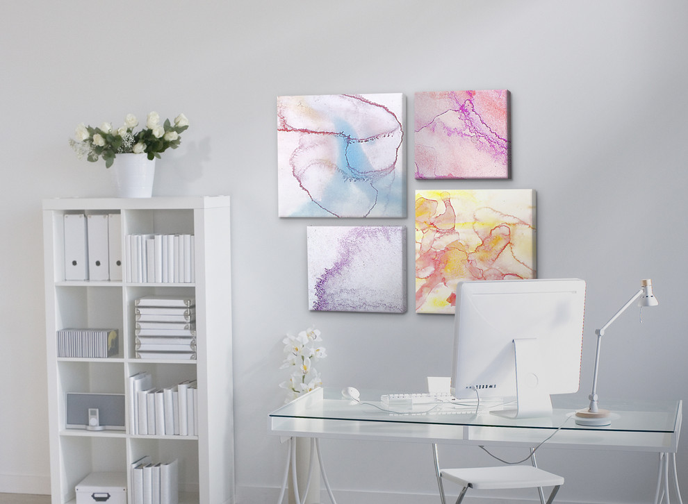 Wall File Holder Home Office Modern with Accent Wall Canvas Custom Canvas Prints Custom Made Gallery Canvas Gallery Print Home