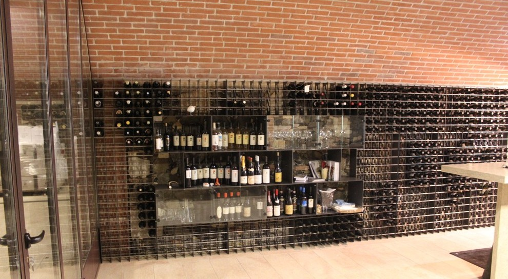 Wall Hanging Wine Rack Wine Cellar Contemporary with Modern Wall Wine Rack Residential Wine Cellar Steel Wine Rack Steel Wine