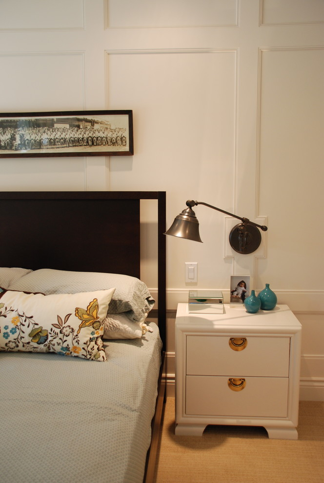 Wall Sconces with Switch Bedroom Contemporary with Bedside Table Decorative Pillows Nightstand Reading Lamp Swing Arm Lamp Throw Pillows