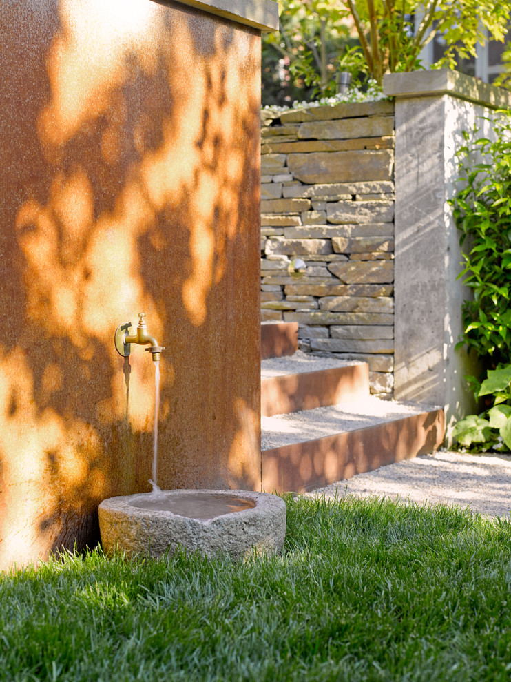 Water Hose Holder Patio Contemporary with Categorypatiostylecontemporarylocationseattle