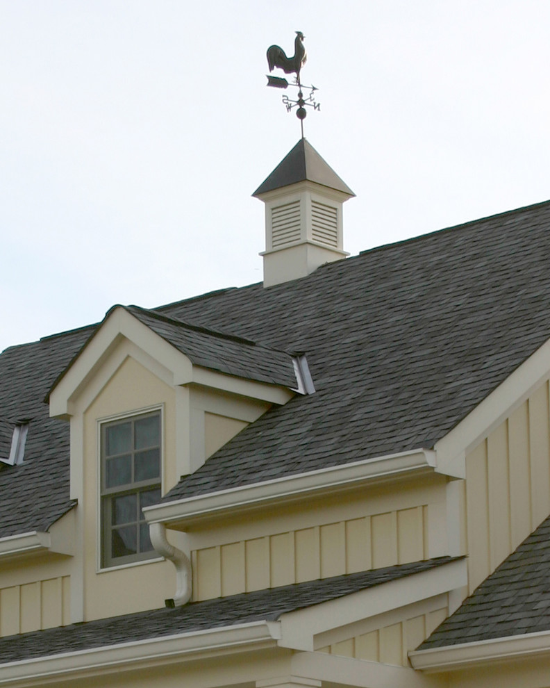 Weather Vanes Exterior Traditional with Board Batten Cupola Dormer Farm House