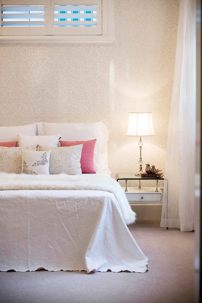 White Coverlet Bedroom Contemporary with Bedroom Girl Bedroom Girls Room Girls Bedroom Girls Room Grey and White
