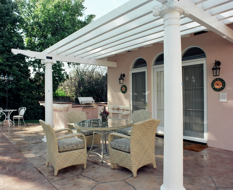 White Ruffle Curtains Patio Traditional with Covered Patio Deck Tiles Design Build San Marino Guest House Indoor Outdoor Indoor Outdoor