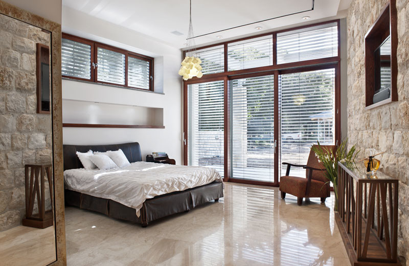 White Sleigh Bed Bedroom Contemporary with Art Glass Lighting Art Lighting Bedroom Lighting Glass Lighting Noga Cubes