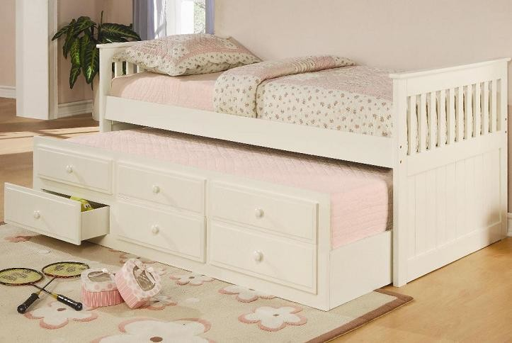 White Trundle Bed Kids with Kids Beds Storage Bed with Drawers Trundle Bed White Bed Frame White