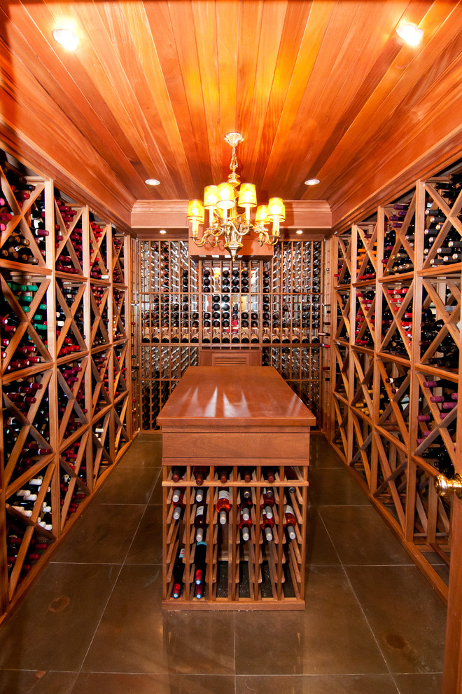 Whitehall Products Wine Cellar Traditional with Eclectic Island Large Wine Cellar Pendant Chandelier Recessed Lighting Tray Ceiling