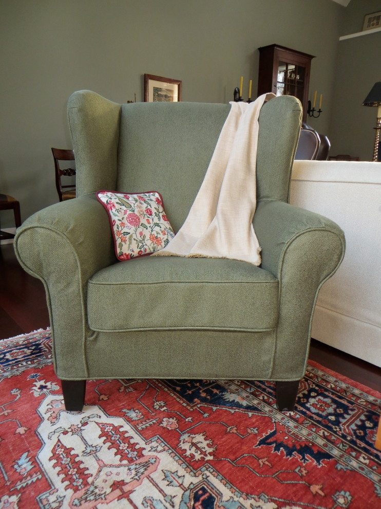 Wing Chair Slipcover Living Room Traditional with Custom Slipcover Fitted Slipcover Wing Chair Slipcover