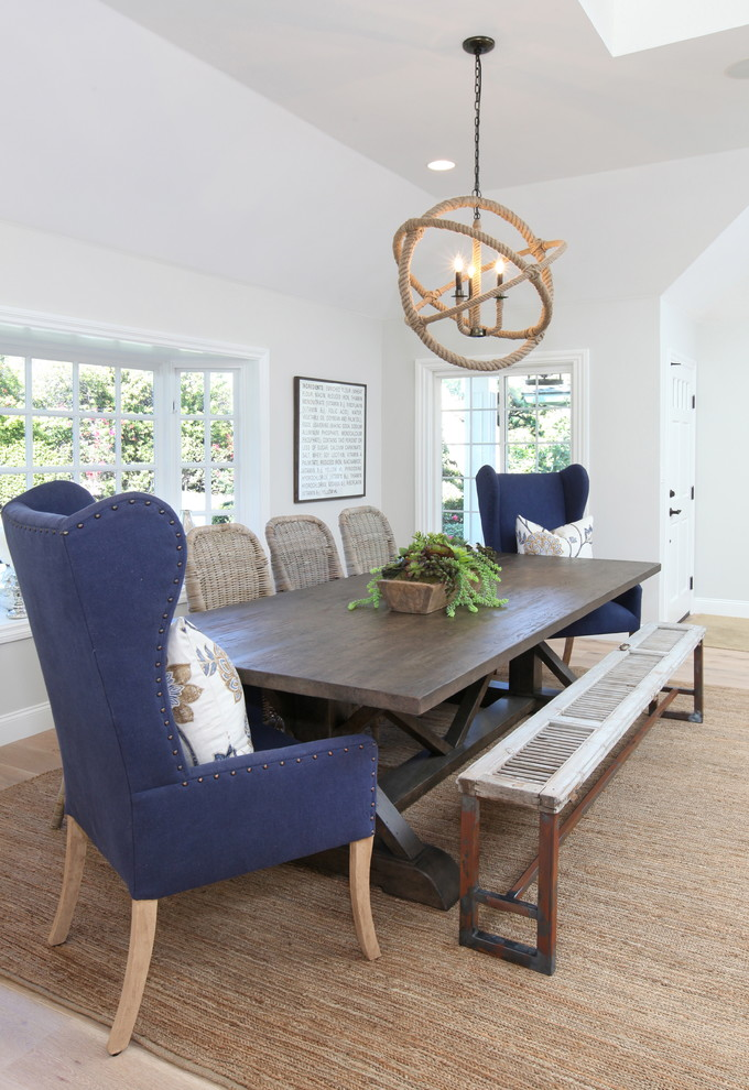 wingback dining chair Dining Room Beach with blue dining armchair dark wood dining table dining bench mismatched dining chairs