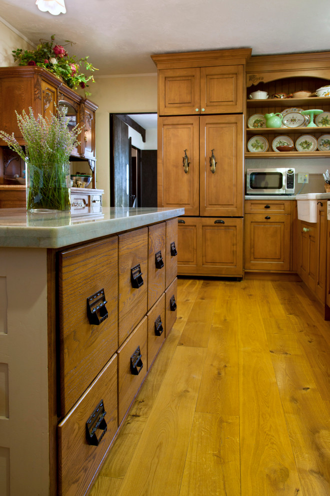 Wood File Cabinets Kitchen Eclectic with My Houzz