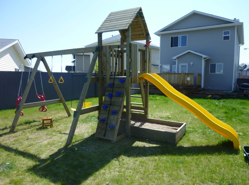 Wood Playsets Patio with Outdoor Playset Playset Wood Playset 1