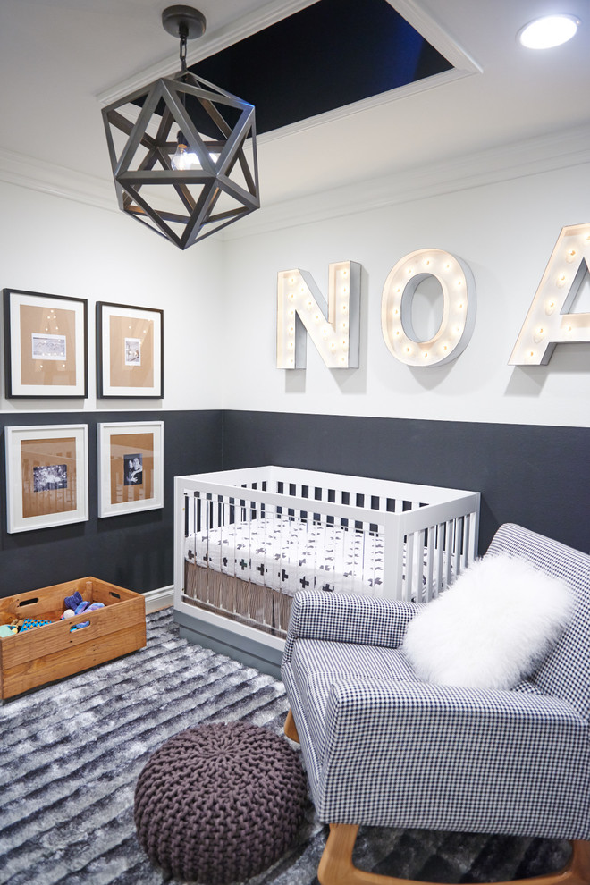 wooden toy chest Nursery Contemporary with gallery art ideas for baby boy nursery kids room marquis letters modern