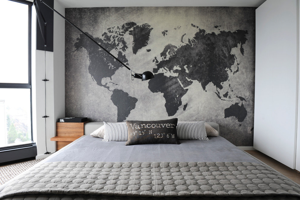 World map wall decal spaces traditional with ceiling mural henricus world map wall decal bedroom contemporary with arm wall sconce floor to ceiling windows gray bedding gumiabroncs