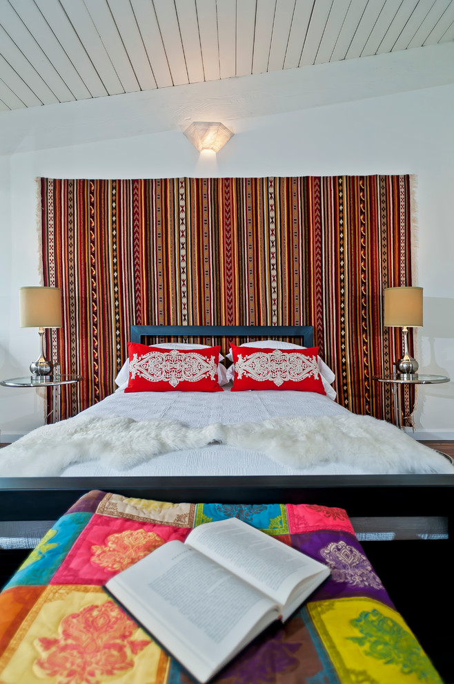 Woven Rug Bedroom Eclectic with Cuarted East Side Eclectic Home Stager Home Staging Interior Design Interior Designer