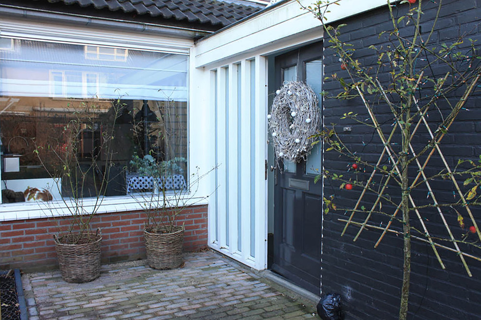 Wreaths for Front Door Entry Eclectic with Christmas My Houzz