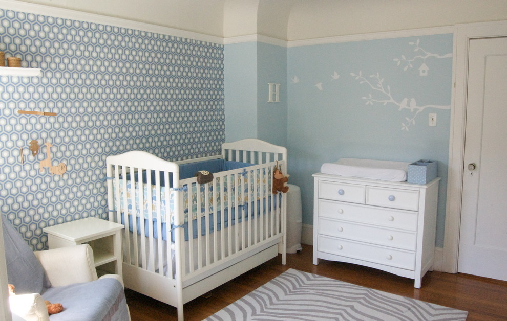 Zebra Print Rug Nursery Contemporary with Area Rug Blue Nursery Changing Table Chest of Drawers Crib Dresser Ideas