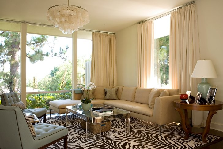 Zebra Rugs Family Room Transitional with Basket Blue and Brown Blue and Chocolate Capiz Shell Capiz Shell Chandelier