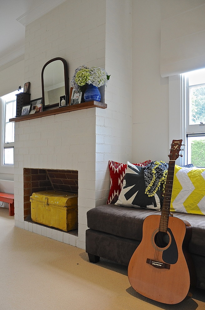 20x20 pillow cover Spaces Eclectic with My Houzz