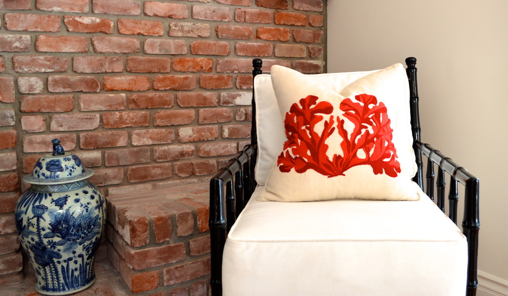 Coral Decorative Pillows Spaces Contemporary with Accent Pillows Brick Coastal