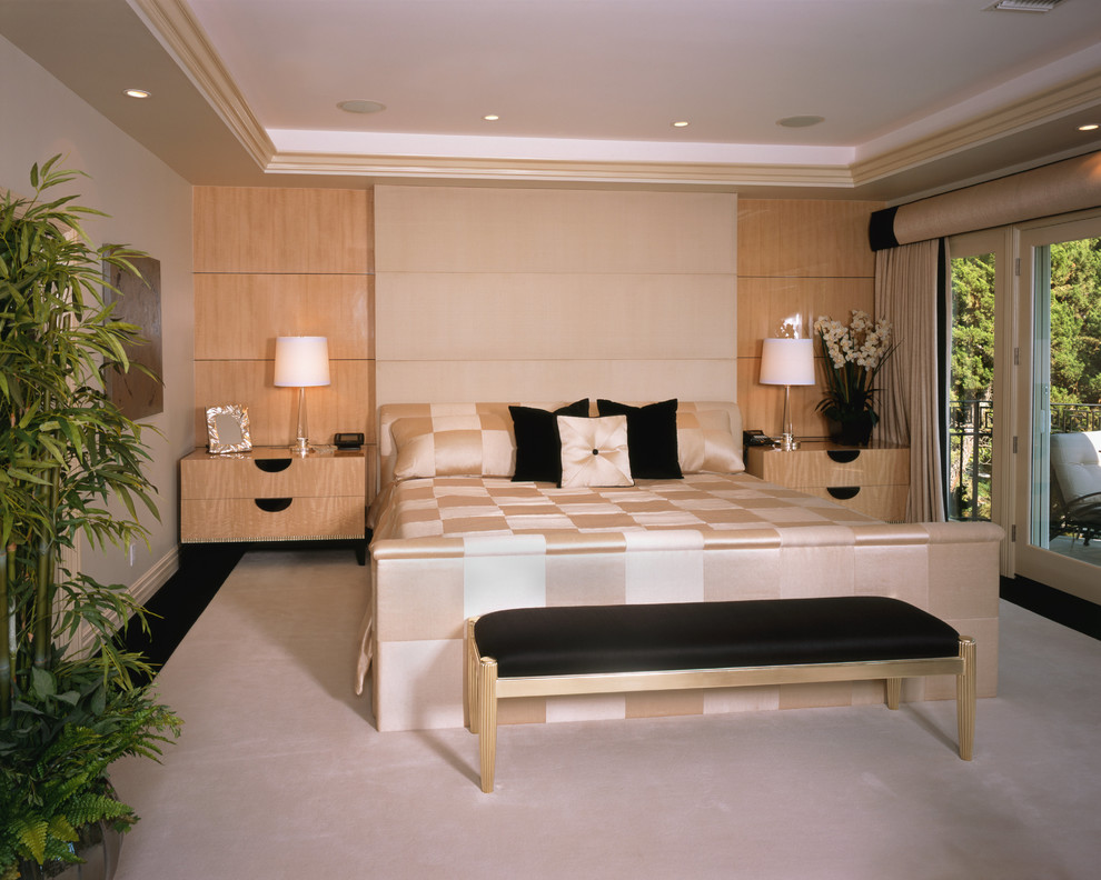 Down Euro Pillow Bedroom Contemporary with Contemporary Master Bedroom Oversized