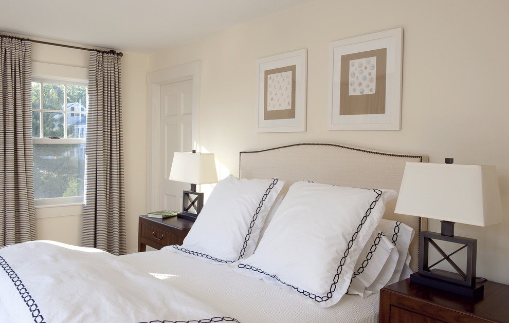 fancy decorative pillows Bedroom Contemporary with bedside table curtains drapes
