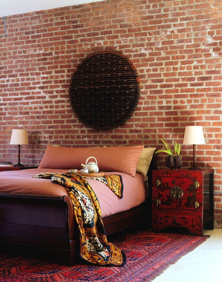 Feather Body Pillow Bedroom Industrial with Area Rug Bedside Table