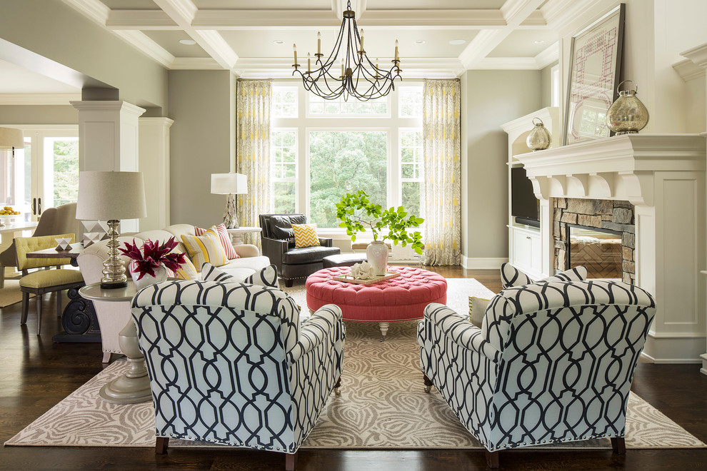 Husband Chair Pillow Living Room Transitional with Area Rug Built In