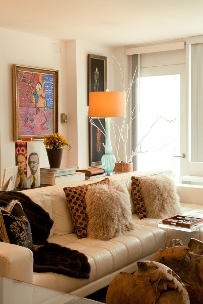 mohair pillows Living Room Transitional with Art artwork branches bright