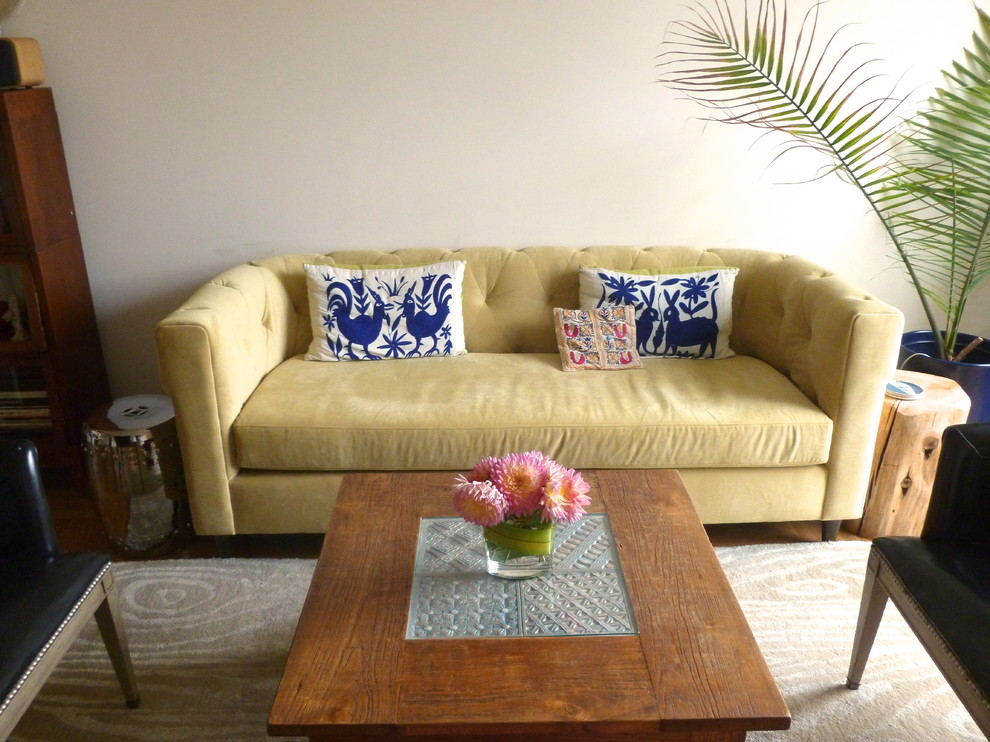 Navy Couch Pillows Living Room Eclectic with Chesterfield Ethnic Otami Yellow