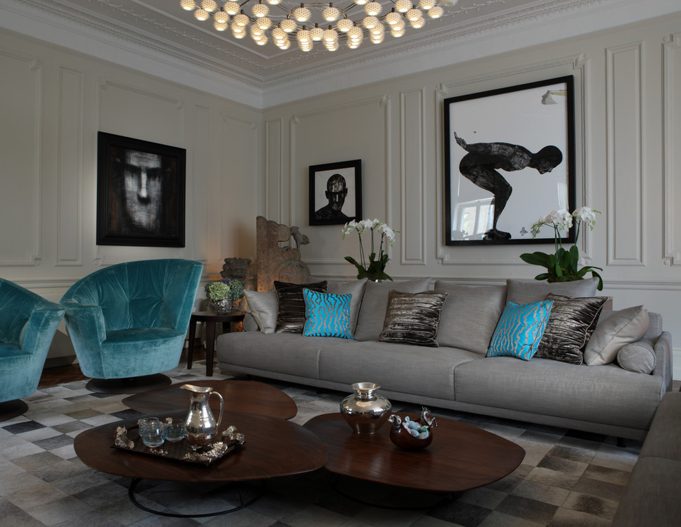 Oblong Throw Pillows Living Room Contemporary with Blue Pillows Brown Pillows
