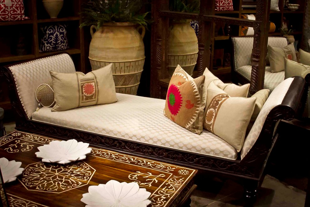 Pillow Slipcover Living Room Mediterranean with African Antique Antiques Arabian