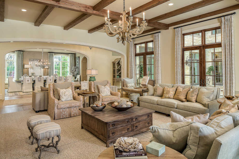 pillow slipcover Living Room Traditional with arched doorway area rug