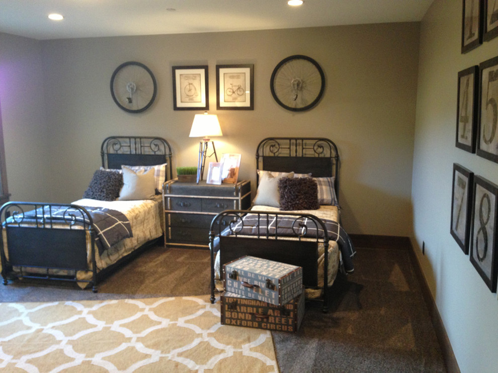 plaid decorative pillows Bedroom Industrial with 2013 2013 park city