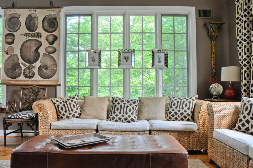 Pottery Barn Pillows Sale Living Room Eclectic with Brown Leather Ottoman Button